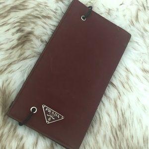♥️Prada vintage check & credit card holder nice pc